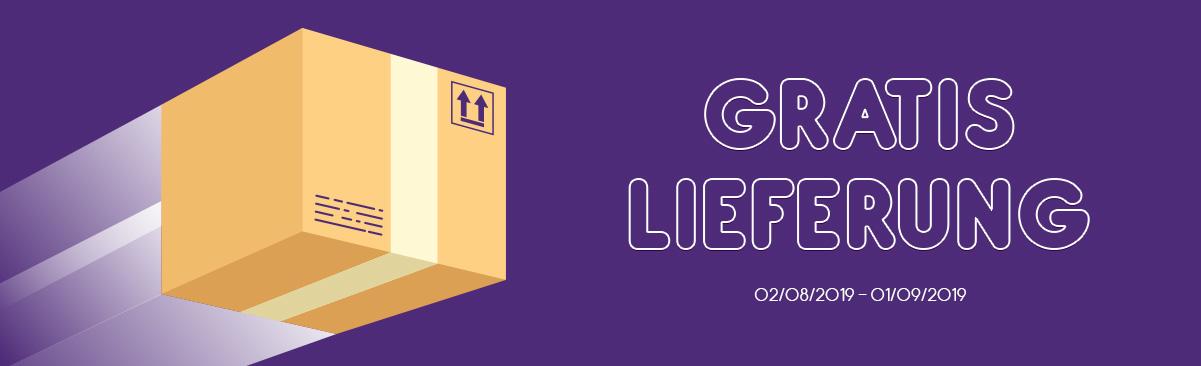 GRATIS LIEFERUNG (Standard Lieferung in Länderzone 1)