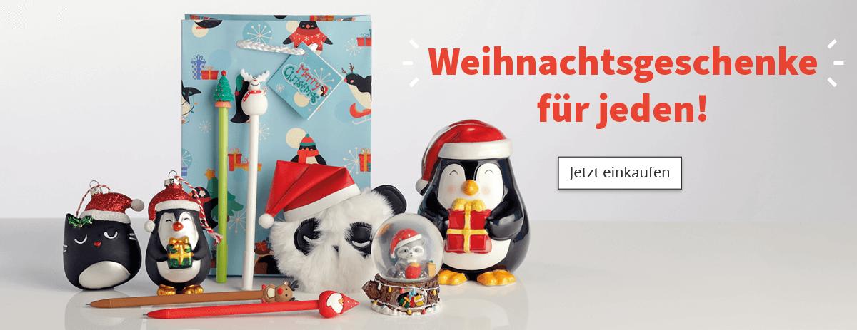 Weihnachtsgeschenke für jeden!